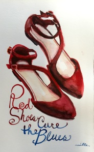Red Shoes Miller
